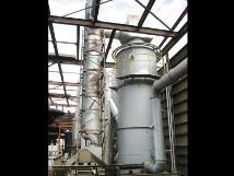 焼却炉排ガス処理設備