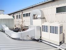 給排気設備の設置